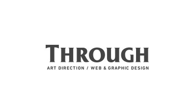 through logo